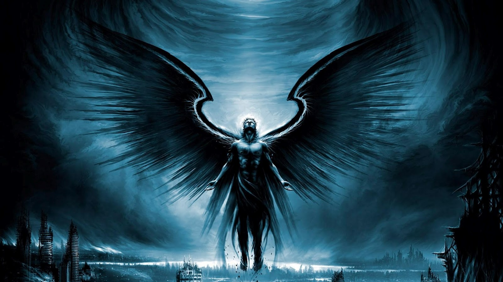 12 hd wallpapers angel of darkness