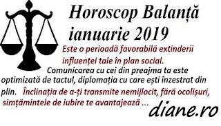 Horoscop ianuarie 2019 Balanță