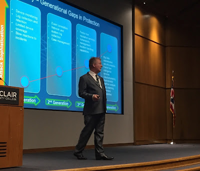 Richard Staynings keynotes at the Ohio Information Security Conference