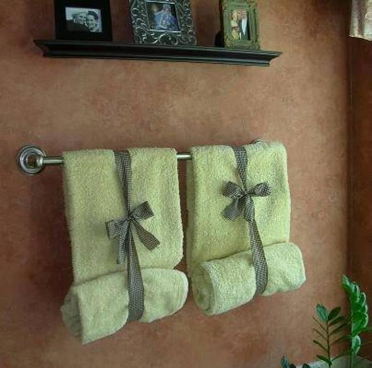 15 Diy Pretty Towel Arrangements Ideas