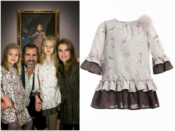 Spanish Princess Leonor Wore Nanos Dress, Queen Letizia dress, style