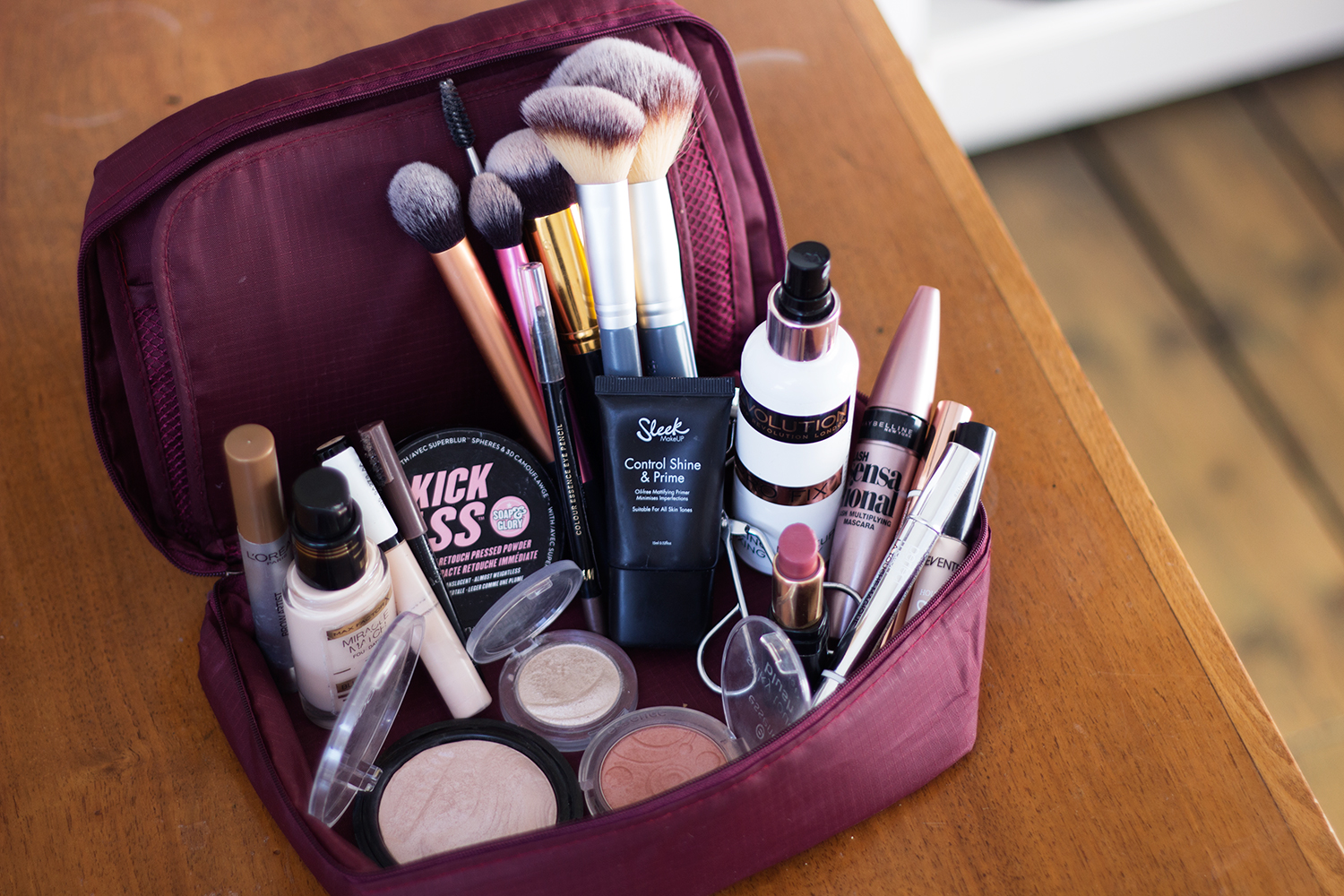 Overnight Travel Makeup Bag
