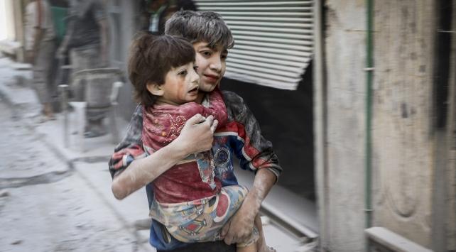 Suriye de Ölen Çocuk