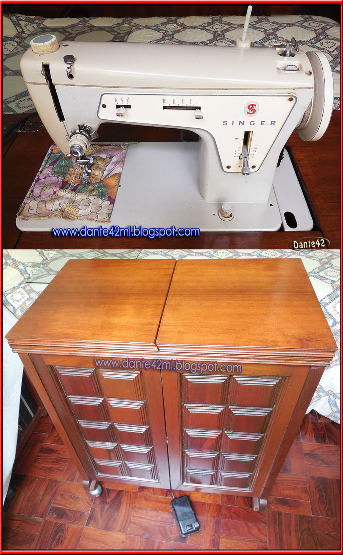 dante42ml: Maquina Antigua de Coser Singer mod.327 con mueble