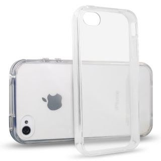 iPhone 4 Case, JETech iPhone 4 4s Case Bumper Shock-Absorption Bumper and Anti-Scratch Clear Back for Apple iPhone 4/4s (Clear) - 0510