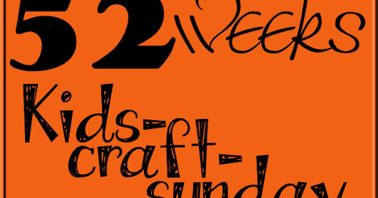 Kids - Craft - Sunday