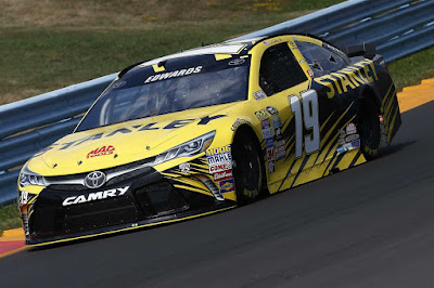 Carl Completes Qualifying On Top (#NASCAR)