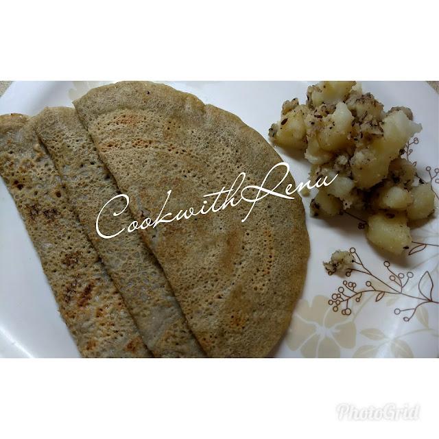 Buckwheat(Kuttu) Pancake