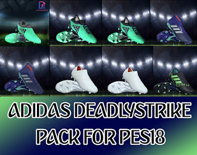 PES 2018 Adidas Deadly Strike Pack 2018 by LPE09