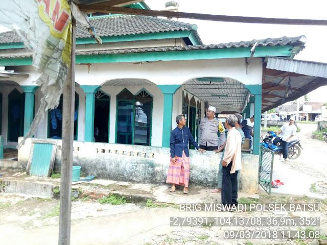Iptu Zanzibar : 2 Masjid Kita Lakukan Pengamanan