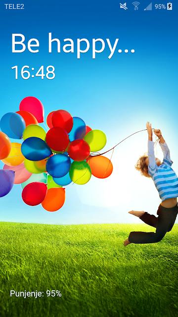 Android aplikacije na mobitelu - početni zaslon