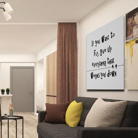 Motivational Canvas Framed Print, Wall Art in Port Harcourt Nigeria