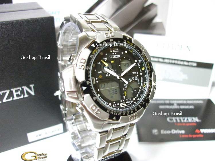 36658599f02 Relógio Citizen Wingman Temp