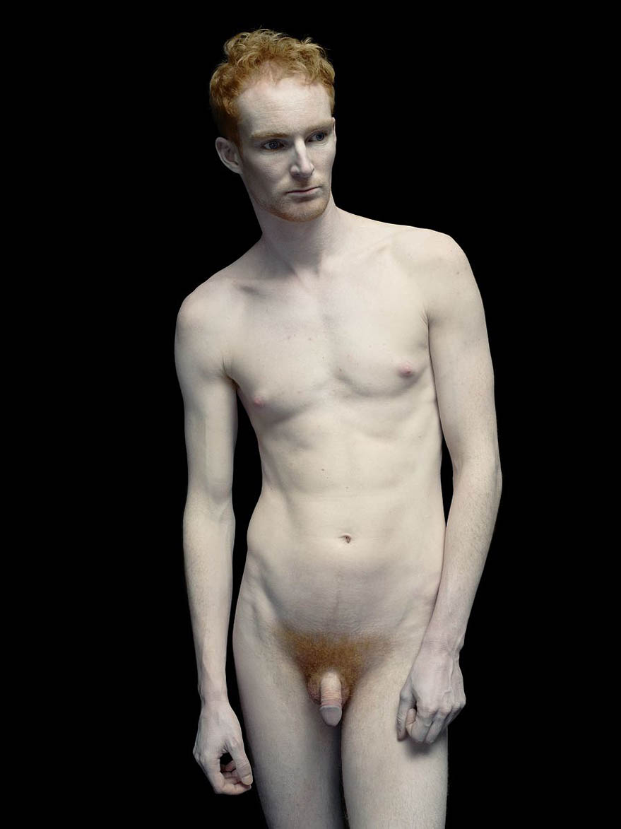 Albino black men naked well