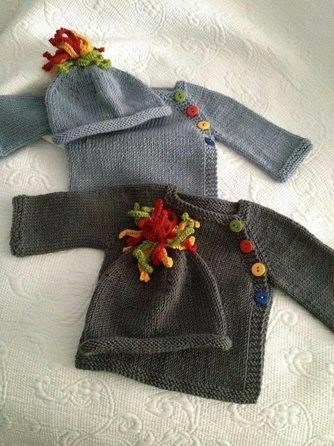 wzory dla dzieci szydelkiem i na drutach