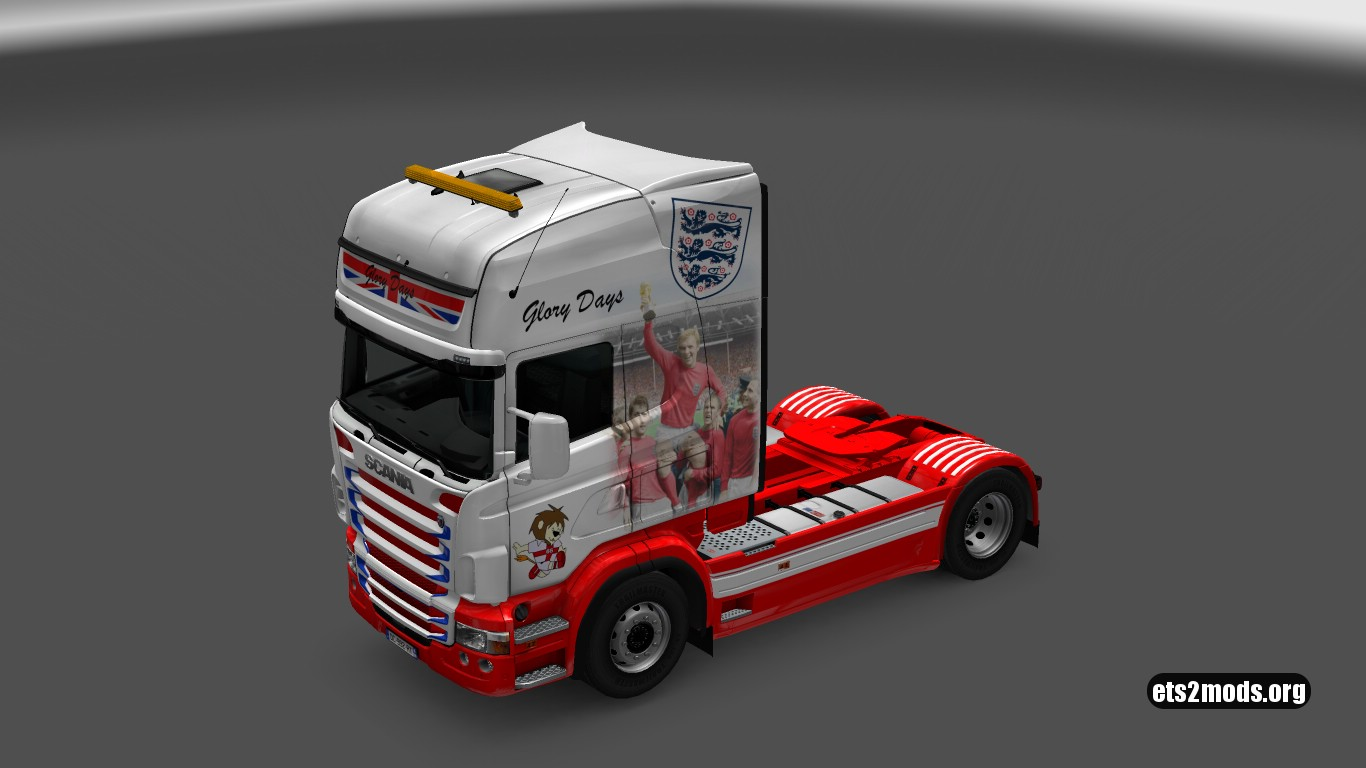 Scania RJL Glory Days Skin