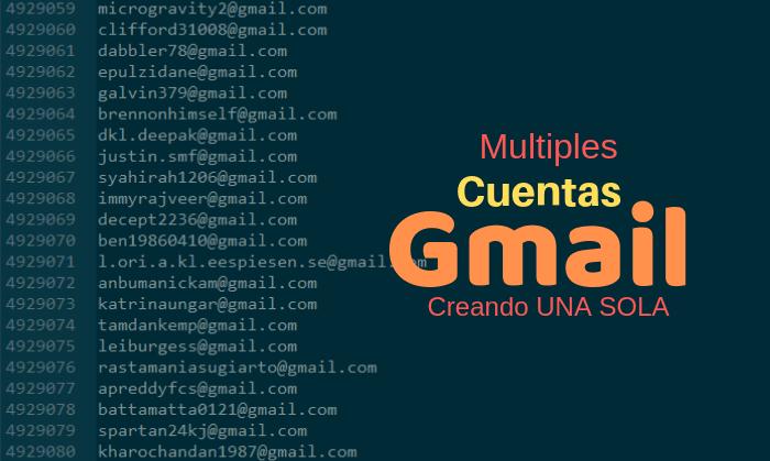 nombres de cuentas gmail disponibles