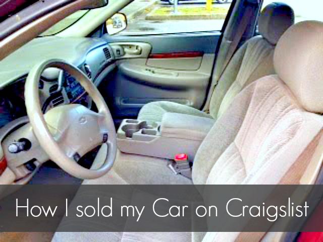 how i sold my car on craigslist always al. Black Bedroom Furniture Sets. Home Design Ideas