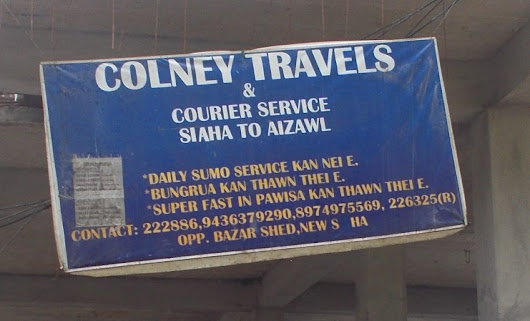 Colney Sumo Counter & Bus Travels Saiha & Aizawl