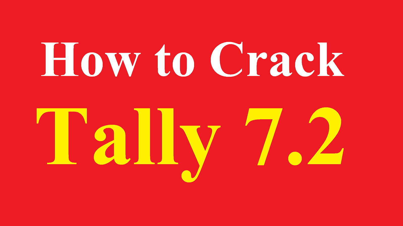 tally 7.2 software download with crack