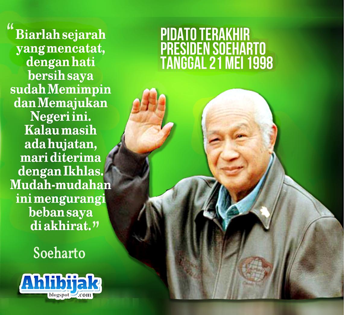 11 Foto Kumpulan Kata Bijak Kata Mutiara Soeharto Jendral Besar TNI