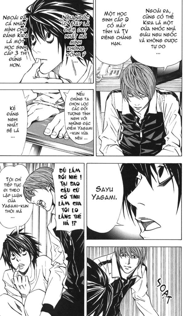 Death Note chapter 022 trang 14