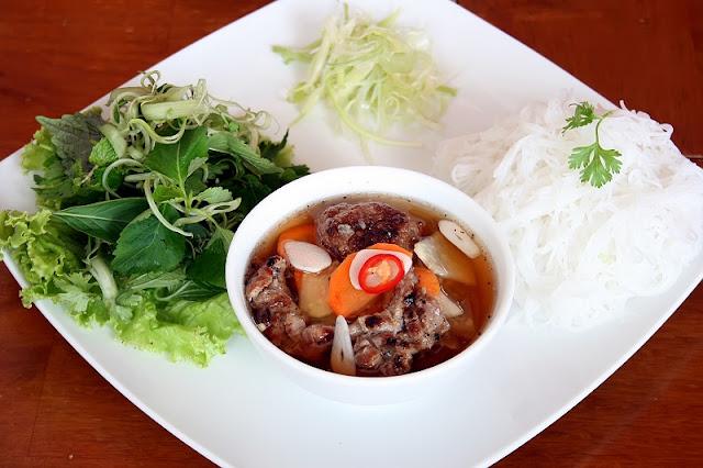 Hanoi's unique food on Phat Loc Street 1