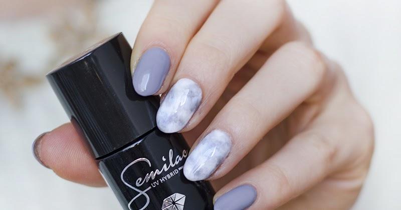 Jak Zrobić Marble Nails Marmurkowy Manicure Semilac Z Którym Bez