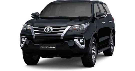 Toyota All New Fortuner 2019 Tipe G VRZ SRZ G 4x4 Warna