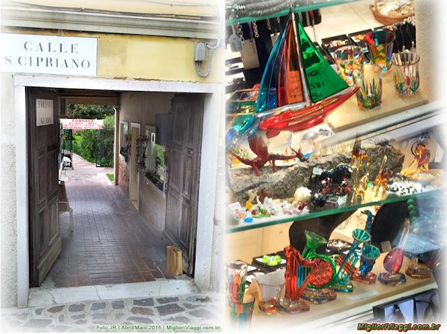 Fábrica de vidro em Murano | Veneza