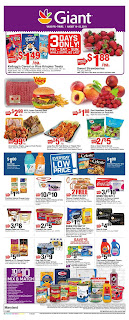 ⭐ Giant Food Ad 8/16/19 ✅ Giant Food Weekly Circular August 16 2019