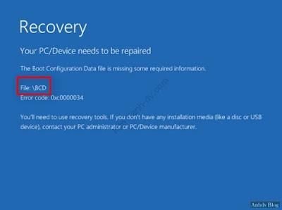 Sửa lỗi BCD, Winload.exe, Winload.efi, Recovery bằng Macrium reflect