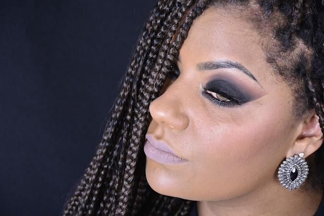 Smokey Eyes Fácil - Pele Negra