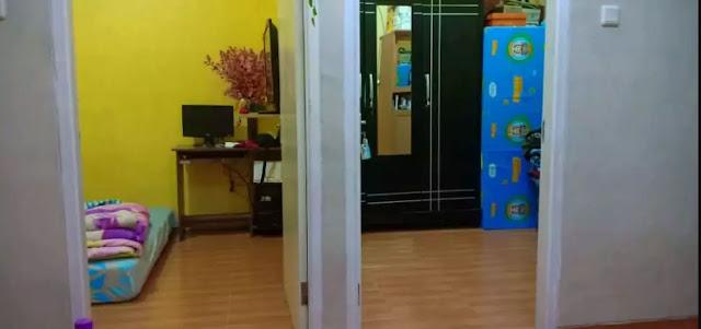 Kamar Tidur (Bedroom) Jual Over Kredit Rumah Minimalis di Rajeg, Tangerang