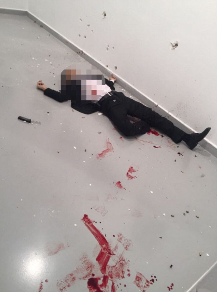 Crime: Russian Ambassador Assasinated On Live TV In Turkey