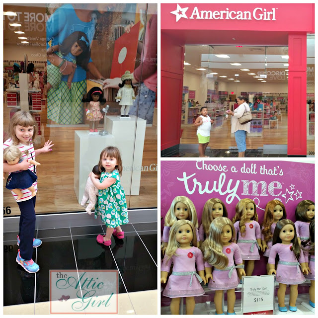 American Girl store, King of Prussia mall, American Girl dolls