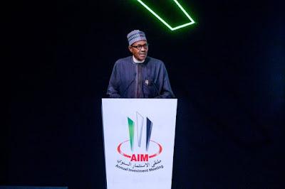 Buhari's Speech At Annual Investment Meeting In Dubai