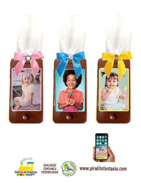 Smartphones de Chocolate