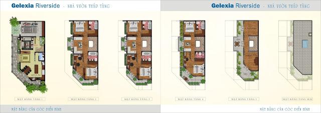 Thiết kế lo góc điển hình nhà vườn Gelexia Riverside