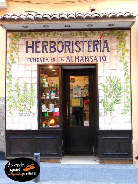herboristería y herbolario