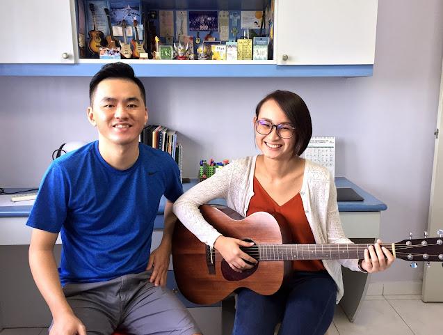 Private Guitar lessons Singapore price