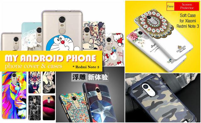 Redmi Note 3 Back Cover Cases