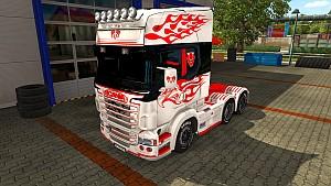 Vinyls Flames for Scania RJL (EviL)