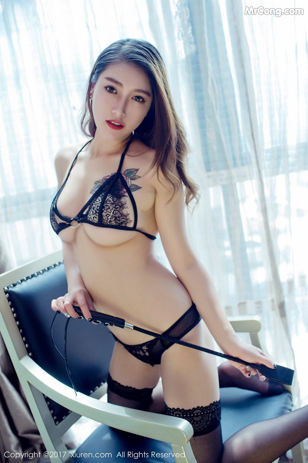 Image XIUREN-No.812-Du-Hua-Hua-MrCong.com-015 in post XIUREN No.812: Người mẫu Du Hua Hua (杜花花) (48 ảnh)