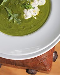 Ode to Veganuary Arugula & Spinach Soup
