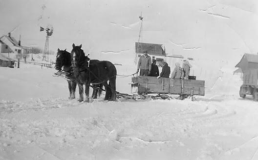 Sun Breaks North Dakota Schoolteacher Winter Of 1949