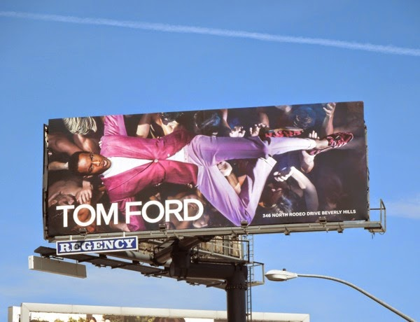 Tom Ford Spring 2014 billboard