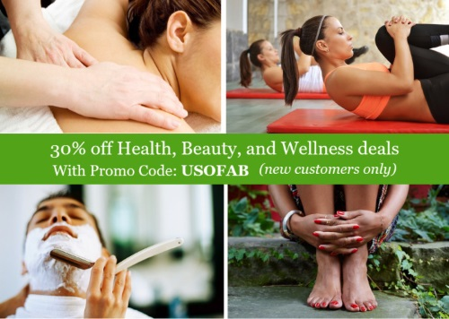 Groupon 30% Off Health, Beauty & Wellness Deals Promo Code