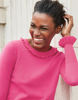 Bright or millennial pink is still a big draw in the AW17 fashion stakes