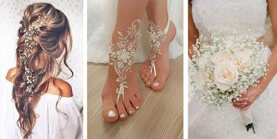 Bride | Casamento na praia - Acessórios descomplicados